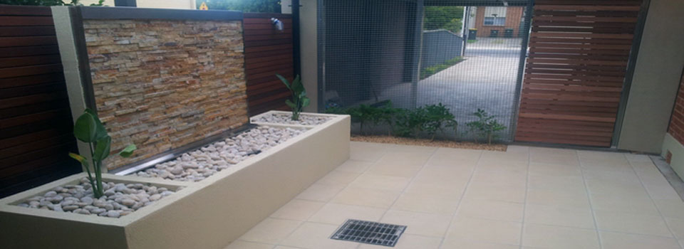 Paving & Outdoor Feature Walls/Screens