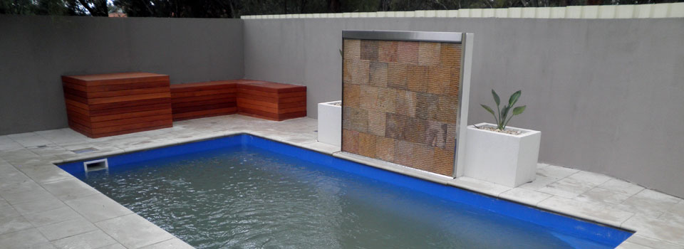 Pool Paving & Feature